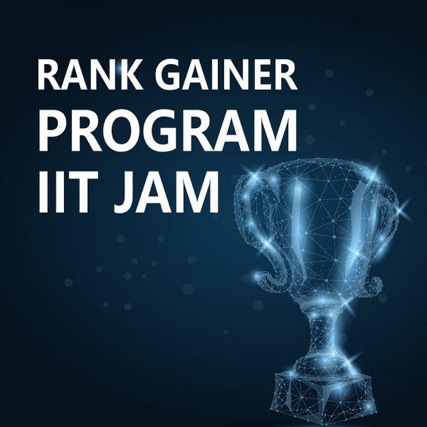 Rank Gainer IIT JAM